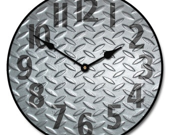 Heavy Metal Wall Clock 4
