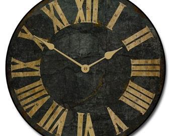 Garden Slate Wall Clock