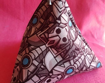 5 inch Doctor Who inspired Cybermen coin purse