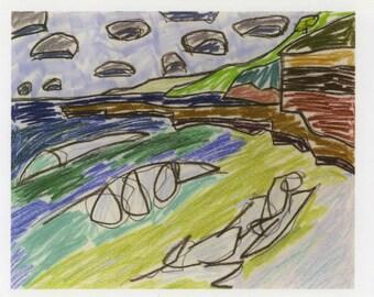 Postcard: Coal Coast X (Wombarra)