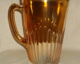 Jeannette Glass Co #21647G1 Marigold Water Pitcher SCARCE
