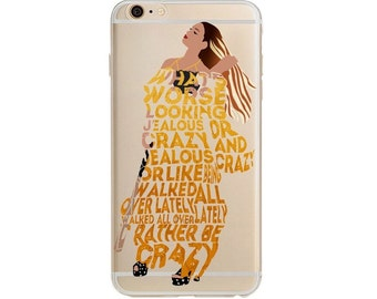Beyonce Lemonade Hold Up iPhone 5 5S SE 6 6S 6S Plus Case
