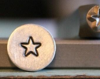 5mm Rounded Corner Star Metal Design Stamp - SGCH-31