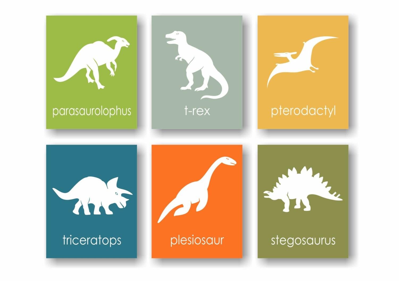 Dinosaur Nursery Art Prints - Triceratops, Trex, Boys Dinosaur Room, Dinosaur  Wall Art, Science Nursery, Toddler Wall Art, Dinosaur Baby