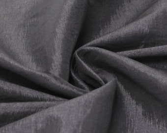Steel Iridescent Stretch Taffeta Fabric by Yard - Style 1501