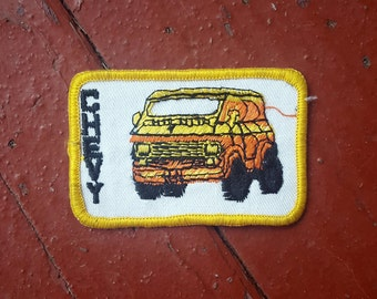 NOS Vintage Chevy Van Patch