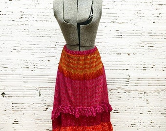 Bright Festival Skirt - Medium
