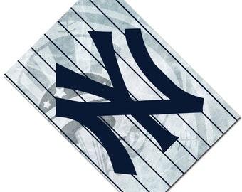 Passport Cover Case Holder -- New York Yankees 3