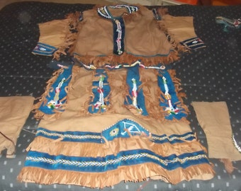Antique/vintage Native American clothing