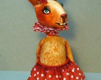 Art doll Souvenir, OOAK  Bunny girl