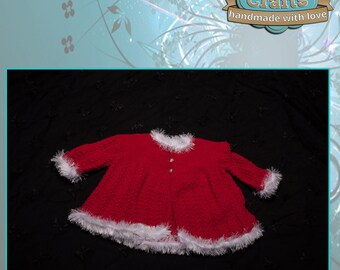 Hand knitted Babies Matinee Jacket