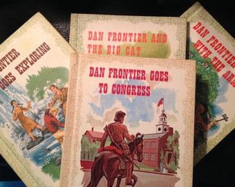 Dan Frontier Vintage Set of 4 Books