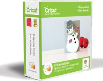 Christmas Kitsch, NEW Cricut Cartridge