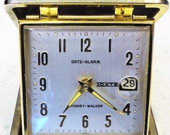 Phinney-Walker Date -Alarm Travel Alarm Clock Japan