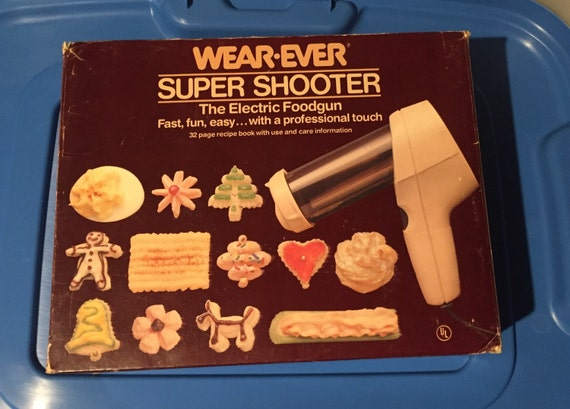 Wearever SUPER SHOOTER Electric Cookie Pastry Press Cookies