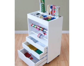 Gift Wrap Cart and Organizer Free Shipping