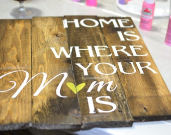 Home is where your MOM is - Mother's Day Pallet