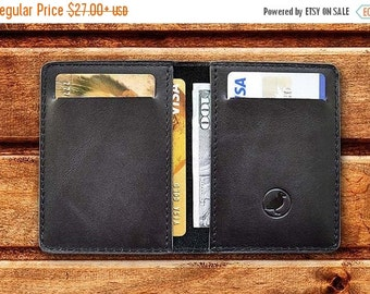 SALE wallet Mens Wallet Leather Front Pocket Wallet Slim Wallet Personalized (if need)