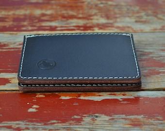 Mens Wallet Front Pocket Leather Wallet