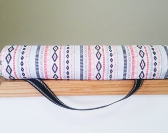 Yoga mat bag- Yoga bag- Aztec yoga bag-  Yoga mat holder- Yoga gift for father- Pilates mat bag- Unique yoga bag- Graduation yoga gift