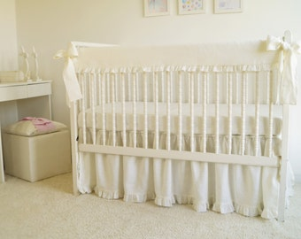 Rail Cover, Crib Rail Protector, Crib Rail Guard, Linen Rail Cover, Crib Rail Cover, Bumperless Crib Bedding, Bumperless Bedding Sets,