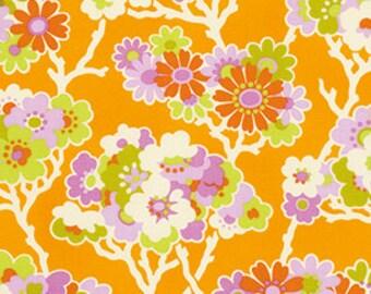 Heather Bailey Lottie Da 'Sprig' in Tangerine Fabric