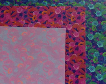 Psychedelic Poppy Wrapping Paper set