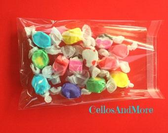 100 Resealable Cello Bags, Party Favor Bags, Cello Cookie Bags, , Cello Gift Bags, Cello Treat Bags, Cello wedding Favors