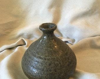 Squat Bottle Earthenware Vase