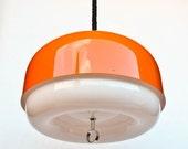 20% OFF Large Vintage Space Age Ceiling Lamp /  Atomic Pendant Lamp / 70's Retro Home Decor / Meblo Guzzini