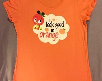 Disney Orange Bird shirt RARE!