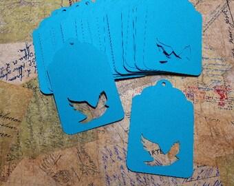 25 Die cut Gift tags/Labels.          #LO-71