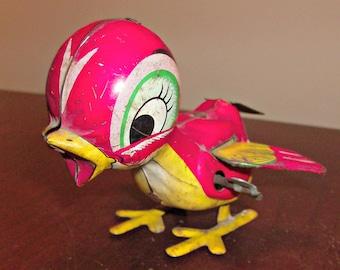 Vintage Wind Up Bird