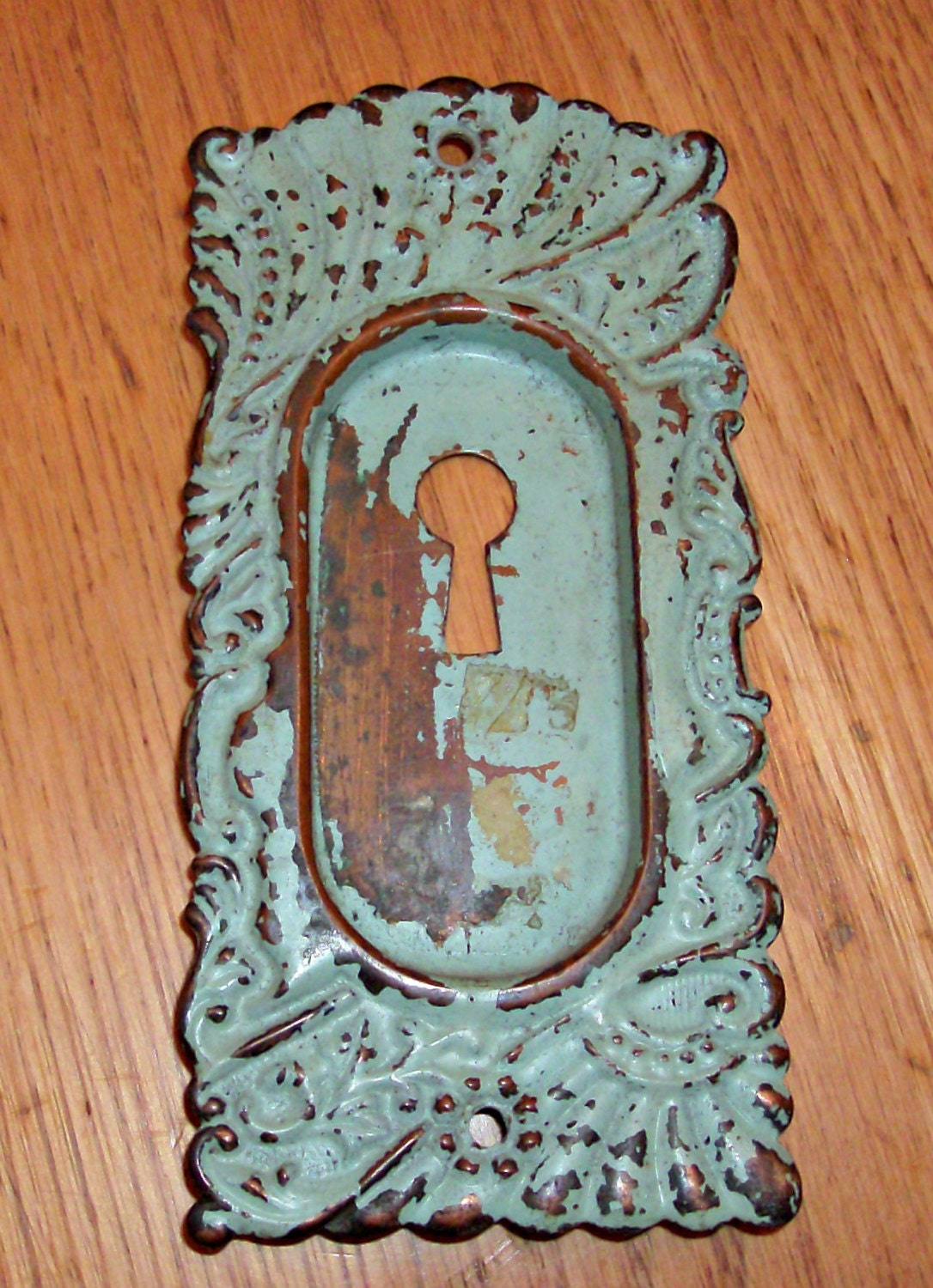 Vintage Brass Recessed Key Plate from 3ShabbyGals on Etsy ...