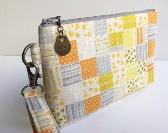 Wristlet - Pouch - Travel Pouch - Travel Bag - iPhone Pouch - Purse - Bag - Evening Bag - Phone Wristlet - Wallet - Wristlet Wallet