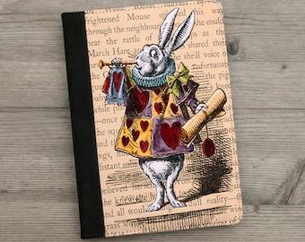 iPad, iPad Air, iPad Mini Case  - Alice in Wonderland - White Rabbit -  Vintage Illustration