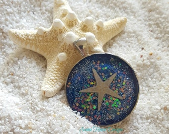 "Mermaid's Treasure Necklace ""Starfish"""