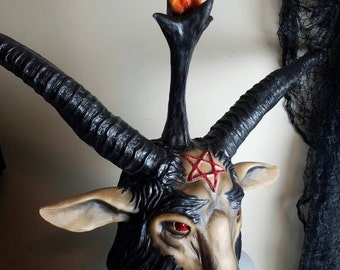 Baphomet latex mask