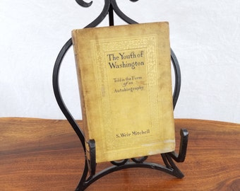 Vintage Book, First Edition, Collectible Books, The Youth of Washington, Vintage Literature, Unique Gift, S Weir Mitchell, Old Books