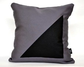 E/F Cushion Cover. Grey.