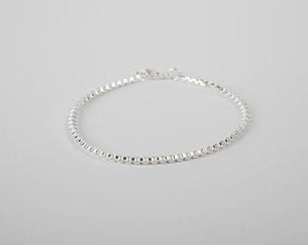 Pretty Bracelet Silver Chain Plated  Silver Plated Chain Venetian Bracelet