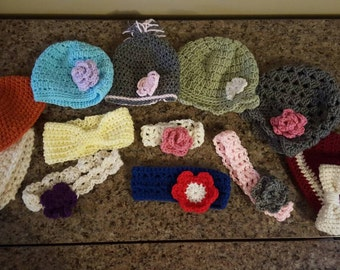 Baby hats & headbands