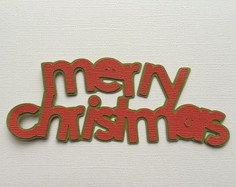 Merry Christmas Paper Piecing