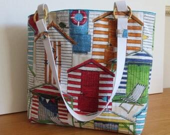 The Brandi Bag: large cabana tote