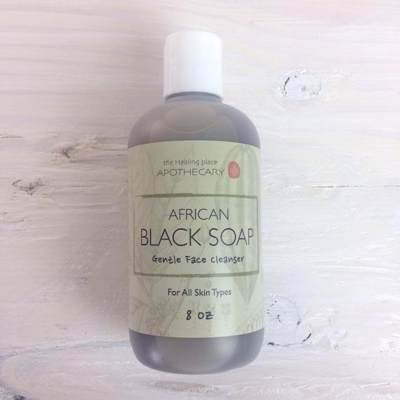 Items similar to Natural Hair Care, BLACK SOAP, Clarifying