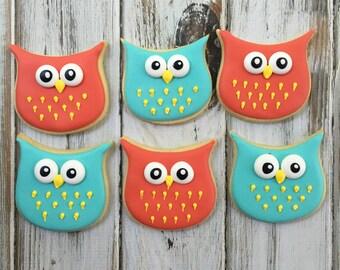 1 dozen Owl cookies