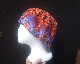 Purple Zig Zag ! Welding cap.You pick the size.