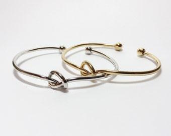 merryme Knot Bracelet Gold/Silver Tone