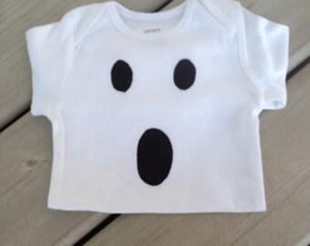 Haloween Ghost Baby Onesie