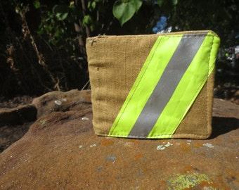 Firefighter wallet made from NEW bunker gear